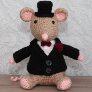 Mr. Gentleman (groom) pattern